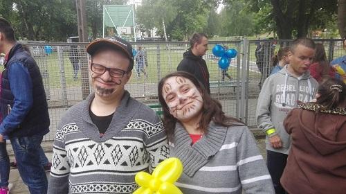 """Festyn """"Akademia Policyjna"""" w Specjalnym Ośrodku Szkolno-Wychowawczym"""